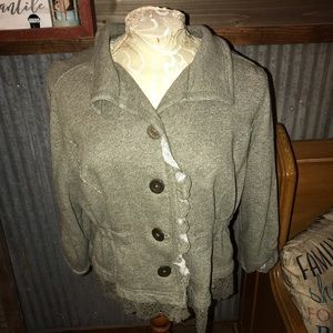 Shabby Chic Lightweight Spring Jacket XL
